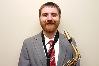 Jerod Kaszynski<br /> Saxophone - Alto Sax 2/Clarinet